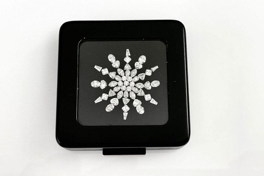white fancy shape diamonds