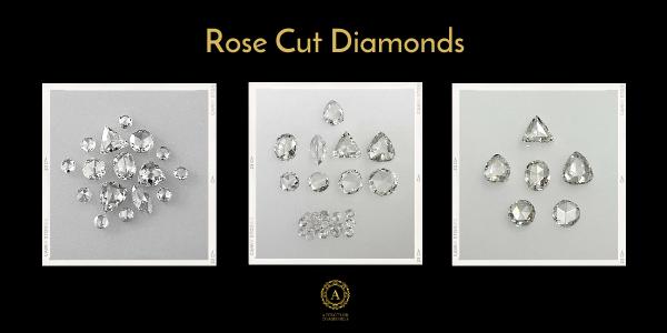 Rose cut diamond -Affection Diamond