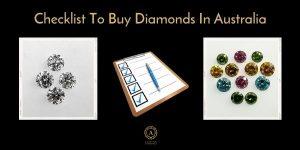 diamond buying checklist