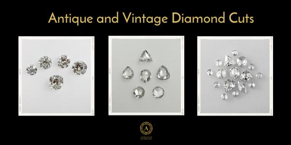 antique cut diamond
